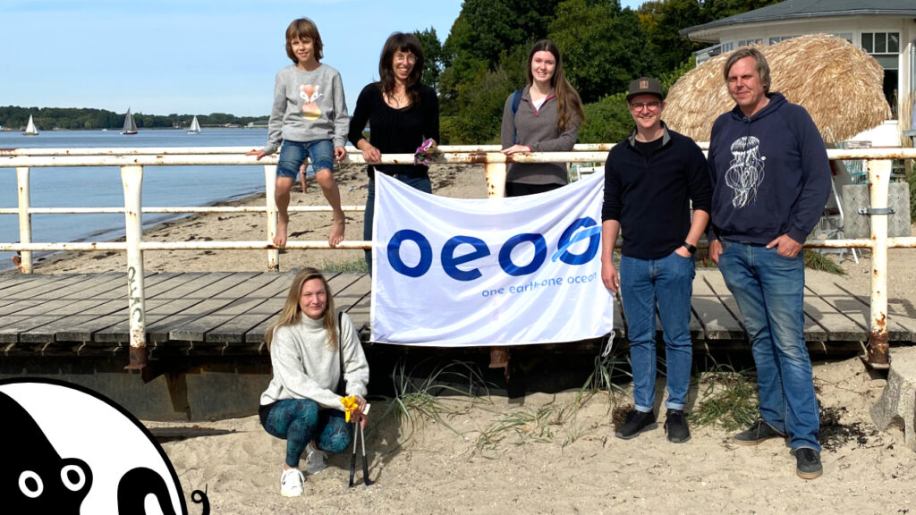 International Costal Cleanup One Earth One Ocean Heikendorf